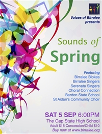 Sounds of  Spring  Flyer - 5