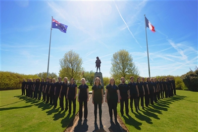 1  Choir Digger Memorial Bullecourt