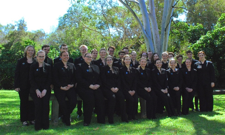Anzac commemoration choir 3